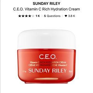 NWT Sunday Riley CEO cream
